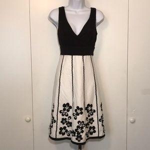 Spenser Women's Black & White Flower Sundress